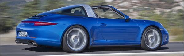 Porsche 911 Targa 991 2014