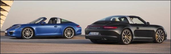 Gelekt: Porsche 911 Targa 2014
