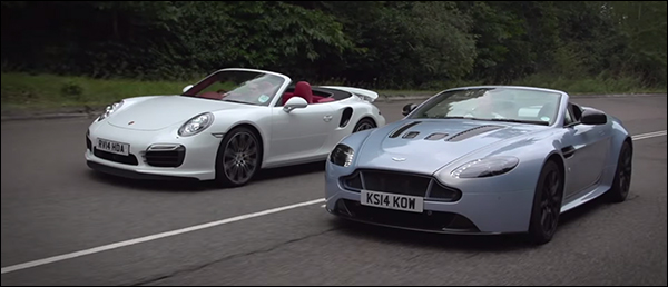Poll: Porsche 911 Turbo S vs Aston Martin V12 Vantage S