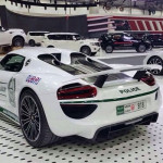 Dubai Police heeft nu ook een Porsche 918 Spyder