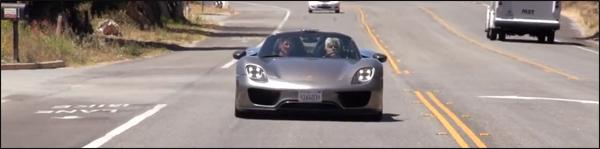 Porsche 918 Spyder Jay Leno