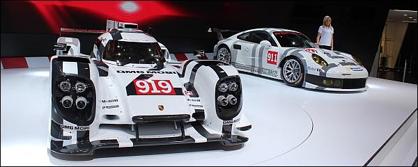 Porsche 919 Hybrid - Geneve 2014 Live