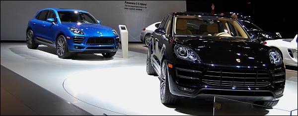 Porsche - Autosalon Brussel 2014 - Macan