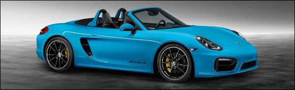 Porsche Boxster S Riviera Blue - Porsche Exclusive