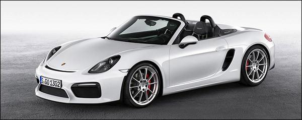 Officieel: Porsche Boxster Spyder 2015