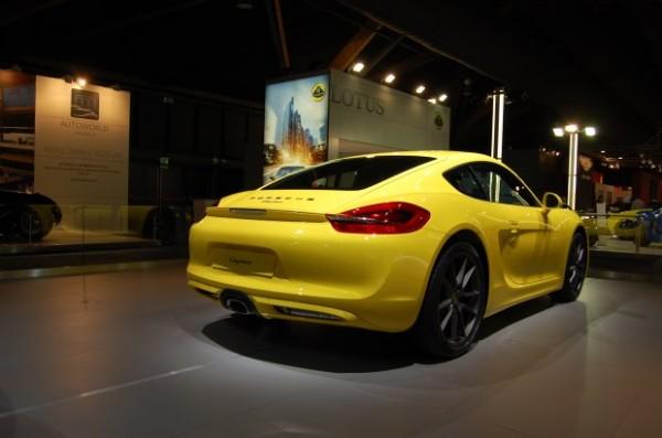 Porsche Cayman 2013 - Brussel 2014 (4)