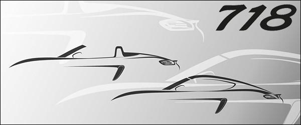 Porsche bevestigt 718 Cayman / 718 Boxster [viercilinders!]