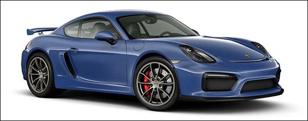 Belgische prijs Porsche Cayman GT4: €88.451