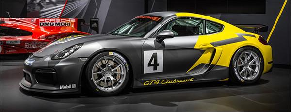 Officieel: Porsche Cayman GT4 Clubsport
