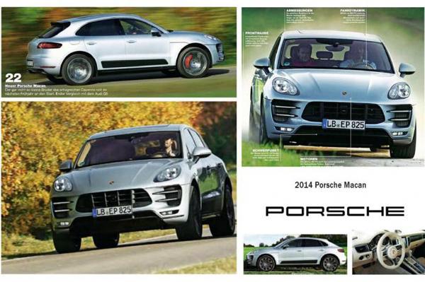 Porsche Macan 2014 2