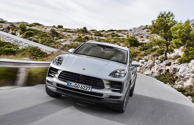 Galerij Officieel Porsche Macan S Facelift 2018 Groenlicht Be