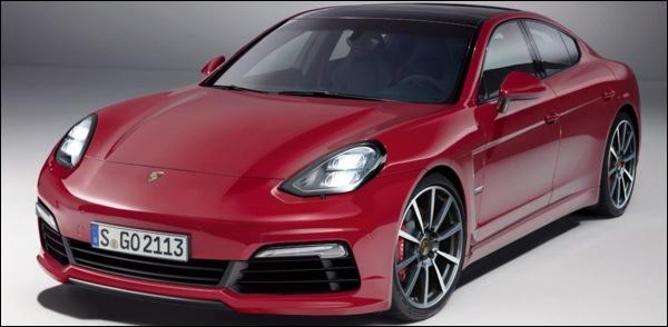 Porsche Pajun Sedan 2017