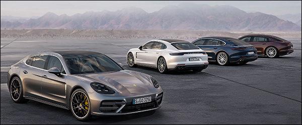 Nieuwe Porsche Panamera krijgt instapper (330 pk) en verlengde Executive versie