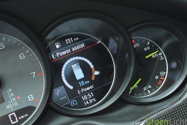 Porsche Panamera S-E Hybrid - Rijtest 31