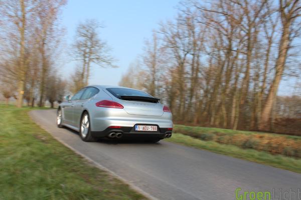 Porsche Panamera S-E Hybrid - Rijtest 43
