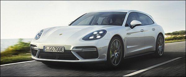 Officieel: Porsche Panamera Turbo S E-Hybrid Sport Turismo (2017)