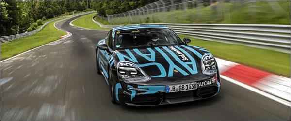 Video: Porsche Taycan zet recordtijd neer op de Nürburgring
