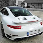 Eerste Porsche Turbo S geleverd in België