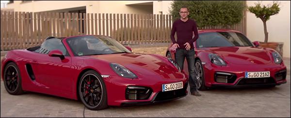 Video: Porsche Cayman GTS vs Boxster GTS
