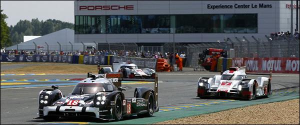 Porsche wint 24u Le Mans 2015