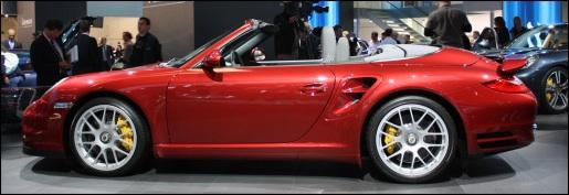Porsche 911 Turbo Facelift IAA Frankfurt 2009