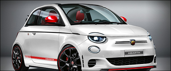 Preview: zuiver elektrische Abarth 500e (2022)