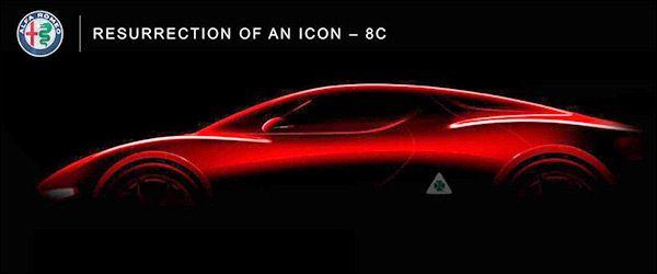Alfa Romeo gaat voor een nieuwe 8C tegen 2022