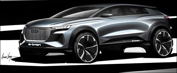Preview: Audi Q4 e-tron Concept (2019)