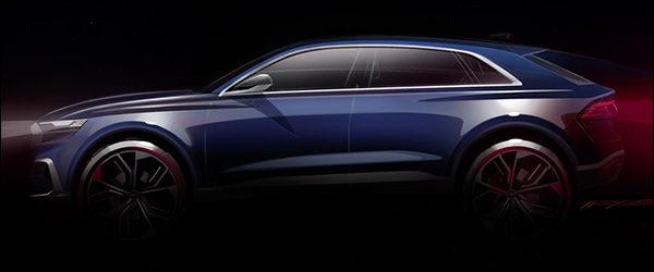 Teaser: Audi Q8 Concept (2017)