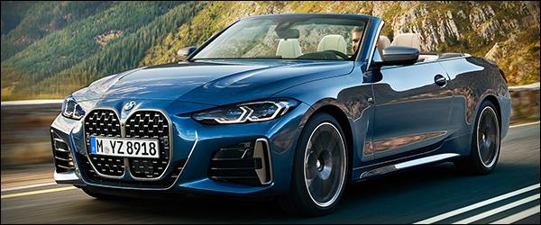 Preview: BMW 4 Reeks Cabrio (2021)