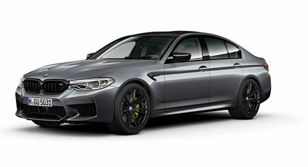 Preview: BMW M5 Competition Package (2018)