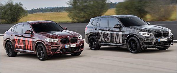 Preview: BMW X3 M en X4 M (2018)