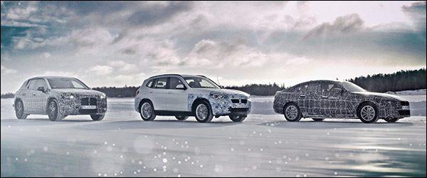Preview: elektrische BMW iX3, i4 en iNEXT (2020)