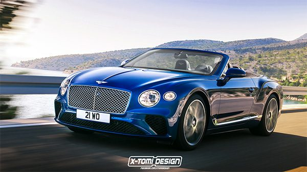 Preview: Bentley Continental GT C (2018)