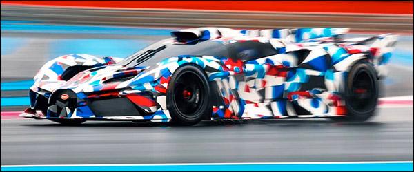 Preview: een extreme Bugatti racewagen (2020)