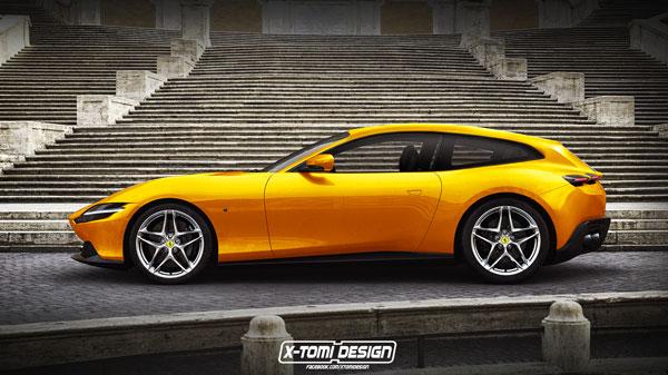 Preview: Ferrari Roma GTS + Roma Shooting Brake (2019)