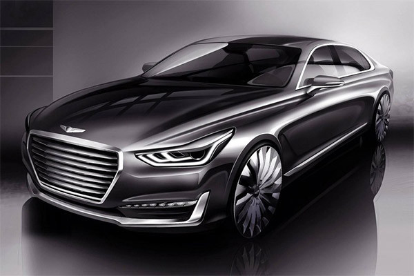 Preview: (Hyundai) Genesis G90 [Equus opvolger]
