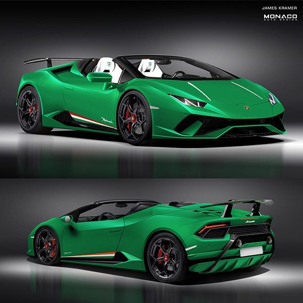 Preview: Lamborghini Huracan Performante Spyder (2018)