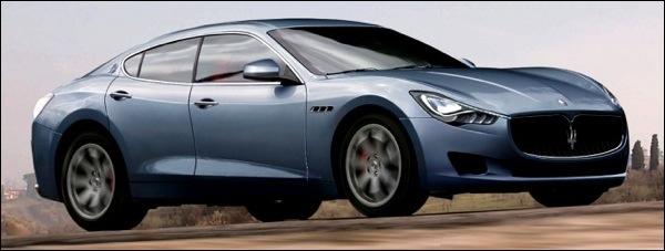 Preview Maserati Levante Baby Quattroporte