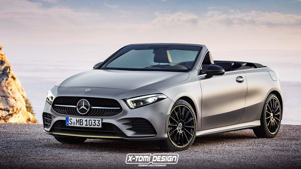 Preview: Mercedes A-Klasse Cabrio (2020)