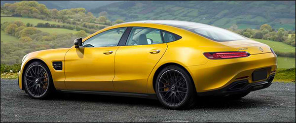Preview: Mercedes-AMG GT4 [vierdeurs sportwagen]