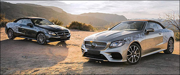 Preview: Mercedes E-Klasse Cabrio (2017)