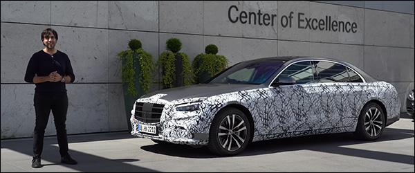 Preview: de nieuwe Mercedes S-Klasse (2020)
