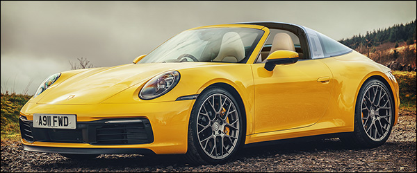 Preview: Porsche 911 (992) Targa (2020)