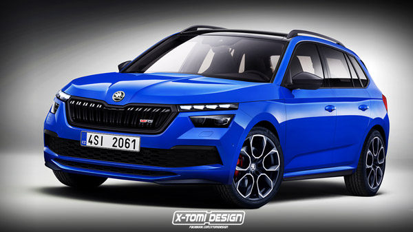 Preview Skoda Kamiq Rs 2020 Groenlicht Be