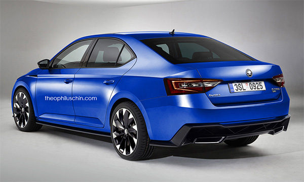 Preview: Skoda SuperB RS (2018)