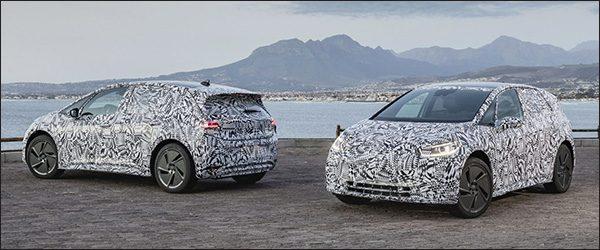 Preview: elektrische Volkswagen ID (2020)