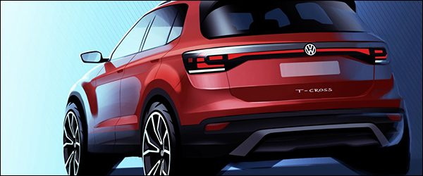 Preview: Volkswagen T-Cross SUV (2018)