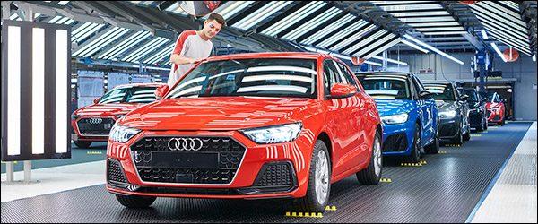 Productie Audi A1 Sportback (2018) van start
