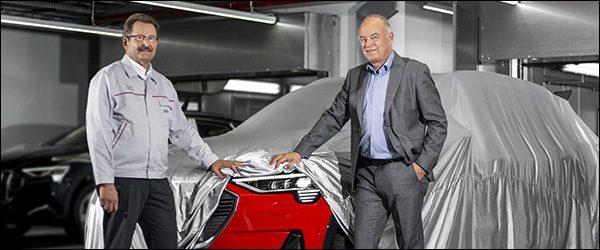 Productie Audi etron EV SUV van start